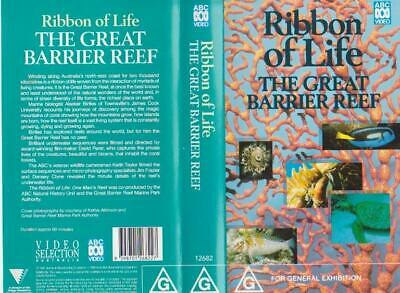 Ribbon Of Life The Great Barrier Reef ~Vhs Video Pal A Rare Find