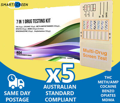 7 Drug Urine Drug Testing Dip Cards. Drug Test Drug Test Drug Testing 7 Drugs