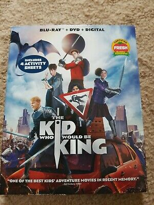 The Kid Who Would be King (Blu-ray Disc + DVD 2019) NO digital copy - like new