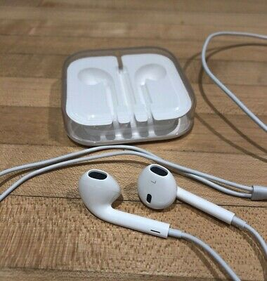 Genuine Original Apple EarPods with 3.5mm Headphone Plug