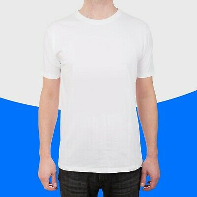 High Quality Men Plain T-Shirt Polyester Blank Tee For Sublimation Heat Transfer