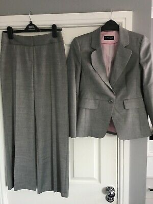 Marks and Spencer Autograph ladies suit - Grey. UK size 8. Never Worn.