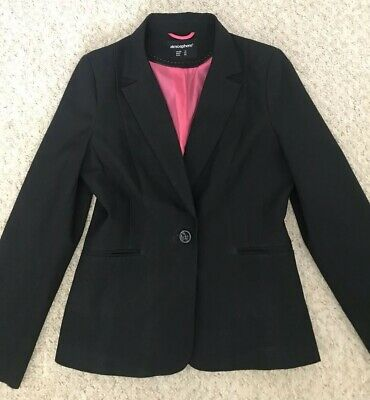 Womens Black Trouser Suit Size 14 12 Primark Atmosphere