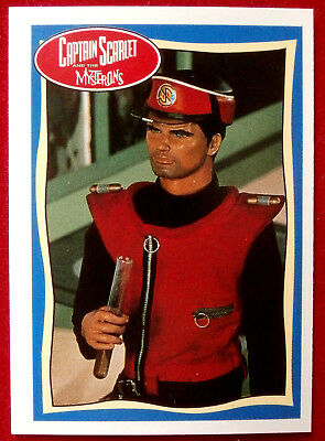 CAPTAIN SCARLET - It's Captain Scarlet! - Card #51 - Topps, 1993, Gerry Anderson