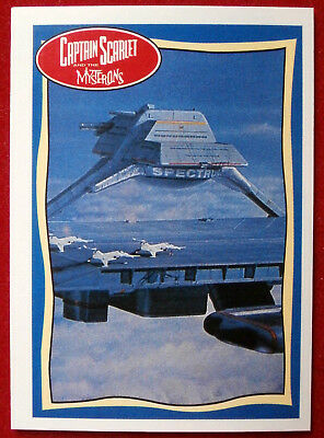 CAPTAIN SCARLET - Cloudbase - Card #60 - Topps, 1993, Gerry Anderson