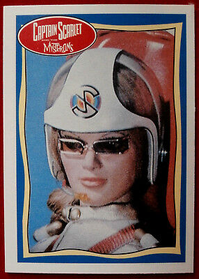 CAPTAIN SCARLET - Destiny Angel - Card #63 - Topps, 1993, Gerry Anderson
