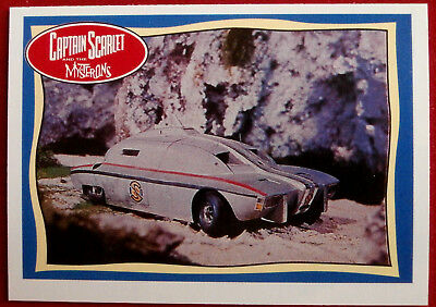 CAPTAIN SCARLET - Maximum Security Vehicle - Card #65 - Topps, 1993
