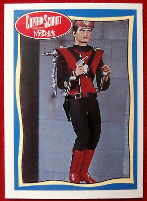 CAPTAIN SCARLET - Did You Know... - Card #66 - Topps, 1993