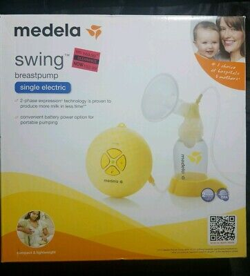 Medela Swing Breast Pump Single Electric 67050 Kit Power Cord And Accessories