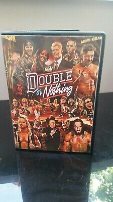 AEW All Elite Wrestling Double Or Nothing Special Edition 2 DVDs