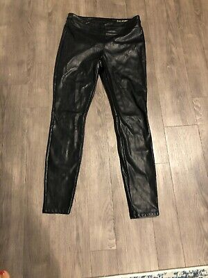 84df978ff4 Blank NYC Womens Black Skinny Faux Leather Stretch Leather Pants 28