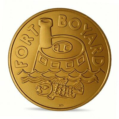 Tourism medal Monnaie de Paris 2019 - Fort Boyard / 30th anniversary