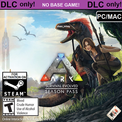 ARK: Survival Evolved Season Pass PC MAC STEAM Key (NO CD / DVD) QUICK DELIVERY