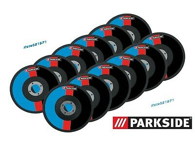 Parkside 12Pcs 125mm x 1mm x 22.23mm Bore METAL CUTTING DISC  Germany 2019