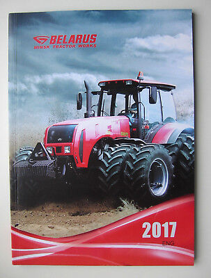catalogue Tracteur Belarus 2017 catalog tractor works ENG