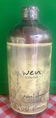 Wen By Chaz Dean Sweet Almond Mint Cleansing Conditioner 16 oz Sealed