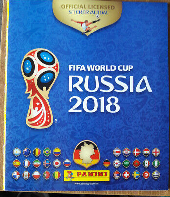 Panini WM World Cup Russia 2018  Sammelalbum Stickeralbum