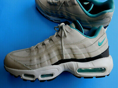 f93f17fe6e NEW Nike Air Max 95 Essential Light Bone Turquoise Shoes 749766-027 Mens  Size 8