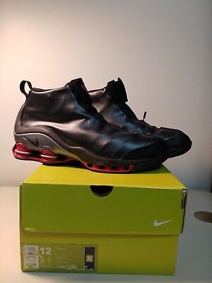 free shipping 11f06 52845 NIKE SHOX VC 1 Brand New Vince Carter Shoes Men s Size 12 US - Black Red