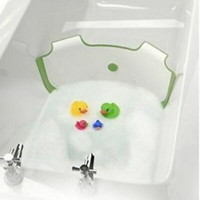 Baby Dam Bath Barrier Green