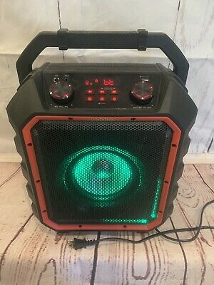 BLACKWEB WIRELESS SPEAKER with Bluetooth, Party Lights, FM