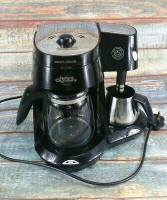 Morphy Richards Mister Cappuccino Filter Coffee Machine Maker Model No 47008