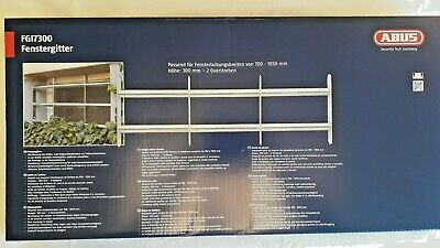 ABUS Mechanical Expandable Security Window Grille 700-1050 x 300mm Model FGI7300