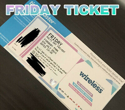 Wireless Festival 2019 Friday Ticket Only 1 left!!!