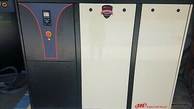 Ingersoll Rand IRN40H-CC 40hp Variable Speed Rotary Screw Air Compressor VSD VFD