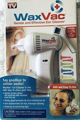 """WAX-VAC EAR CLEANER • Brand New """"NEVER USED""""Package Was Open When I Bought It."""
