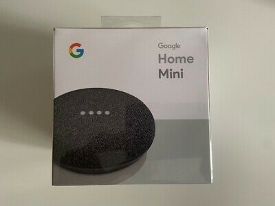 Google Home Mini Smart Assistant (Charcoal) Brand New & Sealed