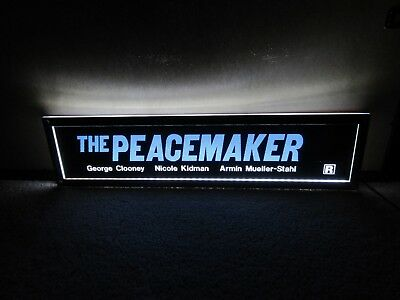 *** THE PEACEMAKER [1997] *** D/S 5x25 [LARGE] MOVIE THEATER POSTER [MYLAR] ***