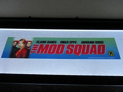 *** THE MOD SQUAD [1999] *** D/S 2.5 x 11.5 [SMALL] MOVIE THEATER POSTER [MYLAR]