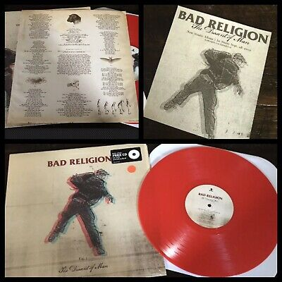 BAD RELIGION~The Dissent Of Man LP/Promo~punk rancid face to face pennywise nofx