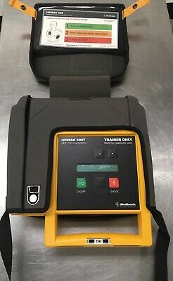 LifePak 500 AED Trainer with Battery Pack and Remote