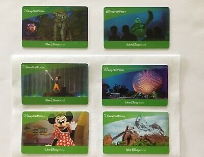 "Disney World 6 One Day Park Hopper Tickets with Fast Pass+ ""expires 10/2020"""