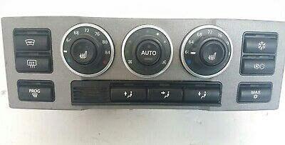03 - 06 Land Rover Range Rover Climate Control Panel Temperature Unit A/C Heater
