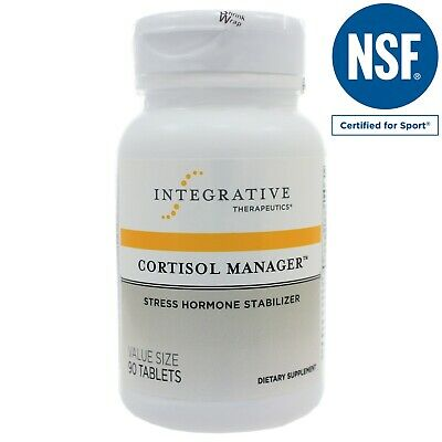 Cortisol Manager - Integrative Therapeutics - Sleep, Stress, and Cortisol
