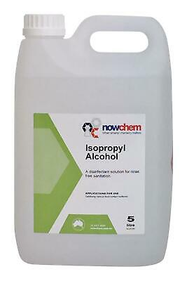 5 litres / 5000ml IPA 99.9% PURE - ALCOHOL, ISOPROPANOL - Next Day Delivery