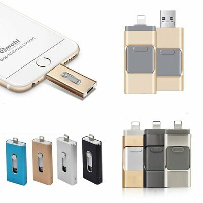 USB OTG Flash Drive Disk Storage Memory Stick For Android iPhone 128/256GB EU