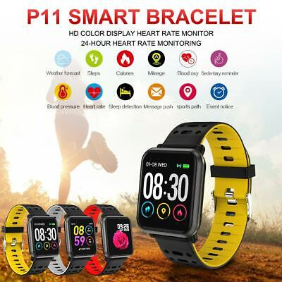 Smart Watch 1.3''Fitness Tracker Sleep Detection Call Sports Wristband IP67