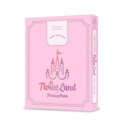 TWICE 2ND TOUR TWICELAND ZONE 2:Fantasy Park DVD 3Discs+Free Gift+Tracking no.