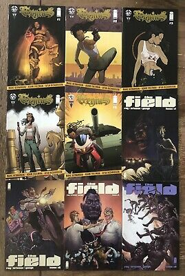 Independent Comic Book Lot #7 (FN+) Image Comics (Genuis & The Field)