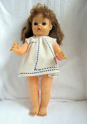 Muñeca Antigua  Made In England , Old Doll Poupee. Puppe