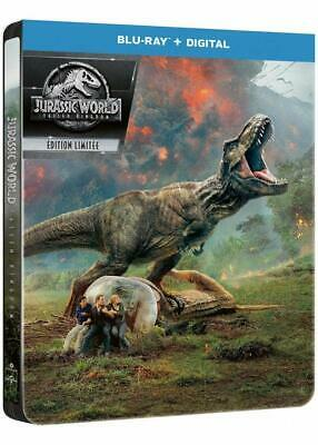 Jurassic World Fallen Kingdom Blu-Ray Steelbook  Neuf Sous Blister