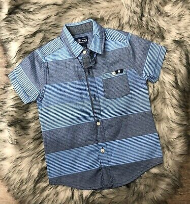 Nwot Kids Lucky Brand Striped Button Front Shirt Size 3T