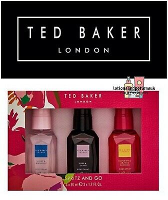 Ted Baker HARMONY BLOOMS Ladies Body Spray Gift Set