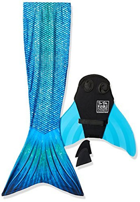 MERMAID SWIMMING WITH Dolphins Underwater Diving Decorations Shower