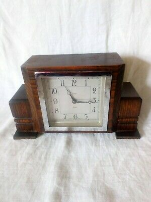 Vintage Enfield 8 Day Mantle Clock