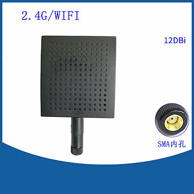 Genuine HJ 2.4GHz 8dBi WiFi Panel Directional Antenna RP-SMA Connector